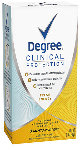 Degree Women Clinical Protection Antiperspirant and Deodorant