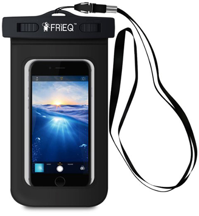 9. FRIEQ Universal Waterproof Case for Apple iPhone