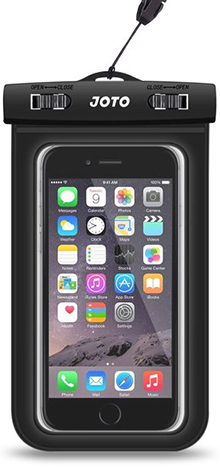 10. JOTO Universal Waterproof Case Bag for Apple iPhone 6, 6 Plus