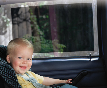 9. Safety 1st Baby On Board Sunshade, 2 Pack