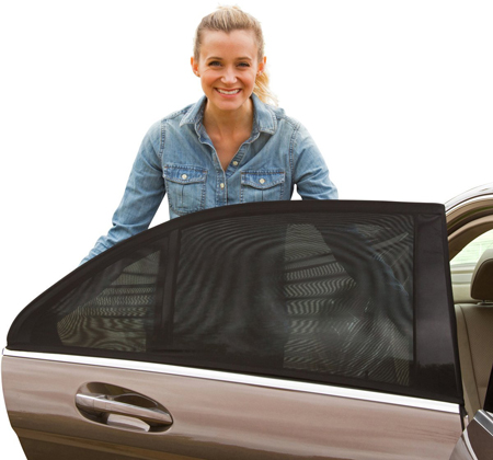 7. ShadeSox Universal Fit Car Side Window Baby Sun Shade