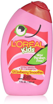 8. L'Oreal Kids Strawberry Smoothie 2-in-1 Shampoo