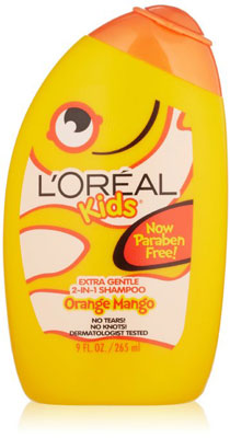 10.L'Oreal Kids Orange Mango Smoothie 2-in-1 Shampoo