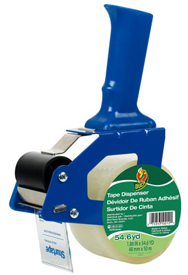 8. Duck Brand Standard Tape Gun, Includes One Roll of 54-Yard Standard Tape, Tape Gun Maybe Blue or Green(669332)