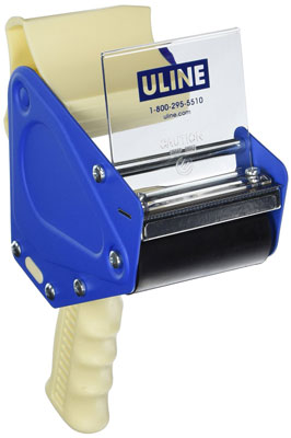 1. New Uline H 596 Packing Tape Dispenser Gun 3-Inch Side Load, Top 10 Best Tape Gun In 2015 Reviews