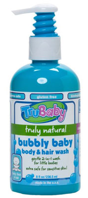 9. TruBaby Bubbly Baby Body and Hair Wash
