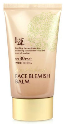 5. Welcos BB No Make Up Face Blemish Balm Whitening Cream SPF 30 PA++