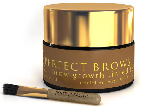 Perfect Brows Styling Primer Pomade and Brow Growth Balm with Mini-Brush