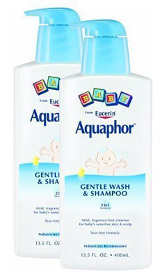 5. Aquaphor Baby Gentle Wash & Shampoo