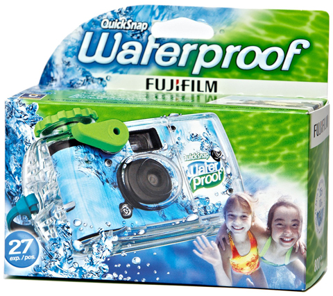 4. Fujifilm Quick Snap Waterproof