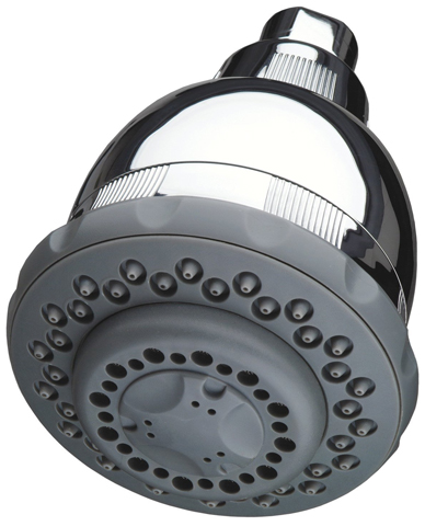 2. Culligan WSH-C125 Wall-Mount 10,000 Gallon Capacity Filtered Showerhead