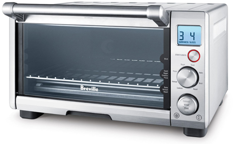8. Breville Compact 4-Slice Smart Oven