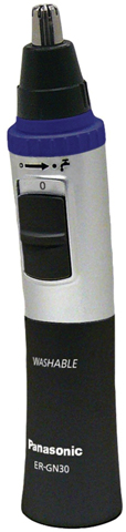 3. Panasonic ER-GN30-K Nose Ear Hair Trimmer