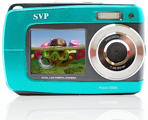 9. SVP Aqua 5500 Waterproof Digital Camera