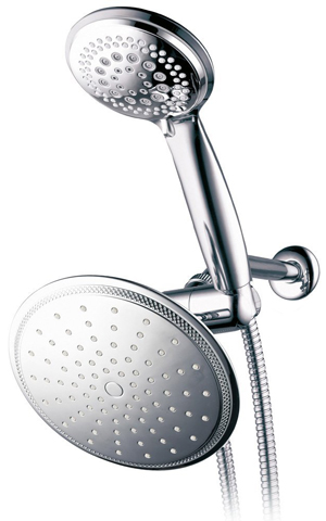 3. DreamSpa 1432 3-way Rainfall Shower-Head and Handheld Shower