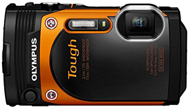 8. Olympus TG-860 Tough Waterproof Digital Camera with 3-Inch LCD