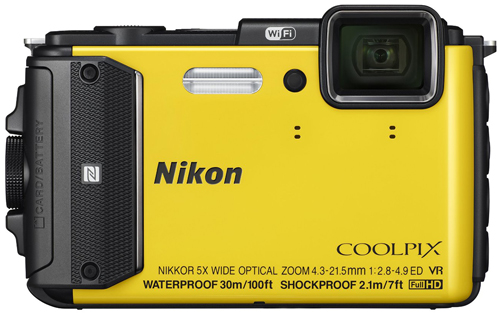 1. Nikon COOLPIX AW130 Waterproof Digital Camera with Built-In Wi-Fi