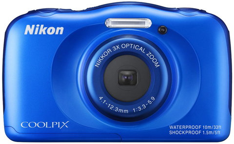 5. Nikon COOLPIX S33 Waterproof Digital Camera