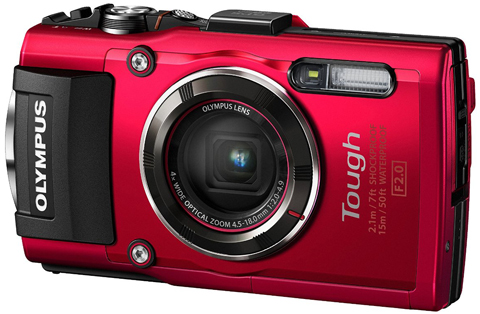 10. Olympus TG-4 16 MP Waterproof Digital Camera with 3-Inch LCD