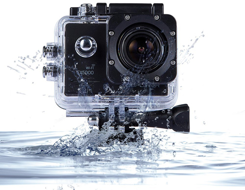 2. DBPOWER Original FHD Sports Action Camera waterproof