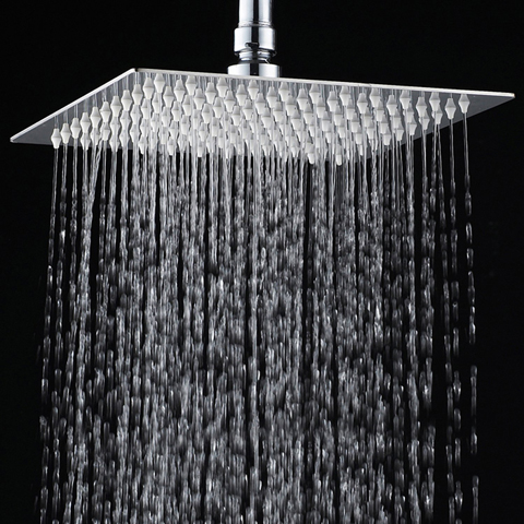 4. YAWALL™ 12 inches Ultra-thin Stainless Steel Rain Shower Head