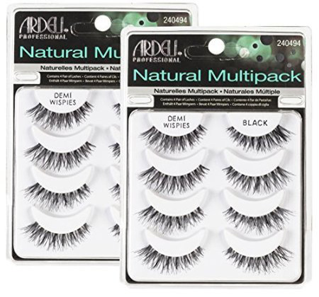 10. The Ardell Multipack Demi Wispies Fake Eyelashes 2 Pack
