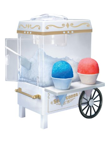 8. Nostalgia Electrics SCM502 Vintage Collection Old Fashioned Snow Cone Maker