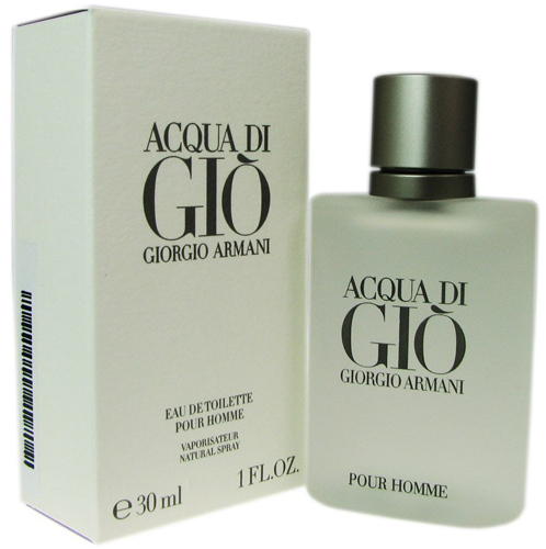 10.Acqua Di Gio By Giorgio Armani For Men. Eau De Toilette Spray 6.7 Ounces