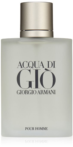 8. Acqua Di Gio By Giorgio Armani For Men. Eau De Toilette Spray