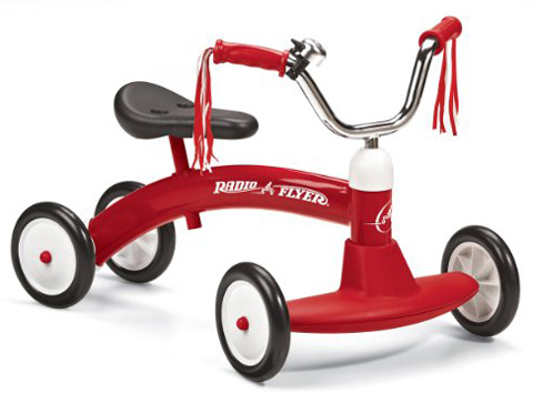 7. Radio Flyer Scoot-About