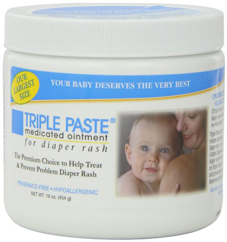 9. Triple Paste Medicated Ointment for Diaper Rash