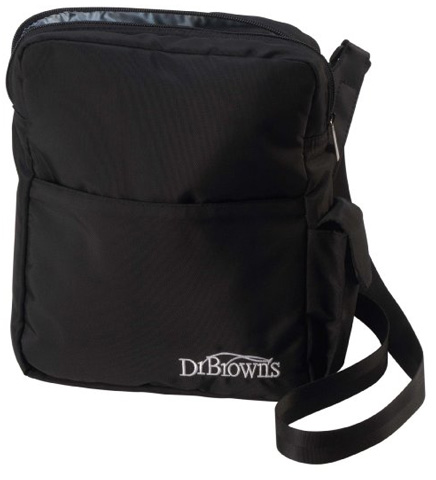 3. The Dr. Brown's Natural Flow Insulated Bottle Tote, Black