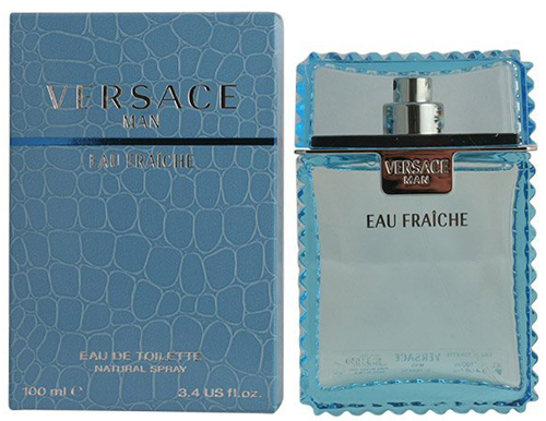 9. Versace Man Eau Fraiche By Gianni Versace For Men Edt Spray 3.4 Oz