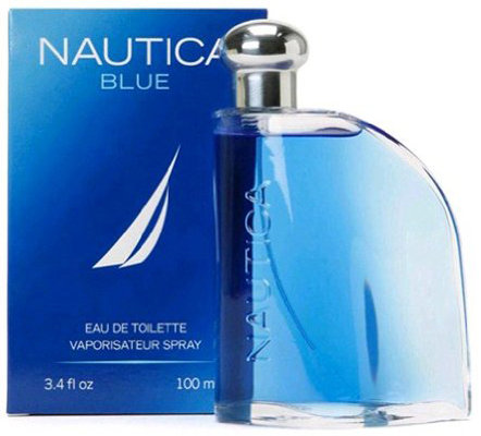 4. Nautica Blue Eau De Toilette Spray for Men, 3.4 fluid ounce