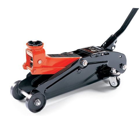 4. Powerzone 380033 2 Ton Steel Floor Jack