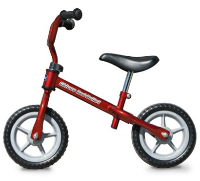 7. The Chicco Red Bullet Balance Training Bike