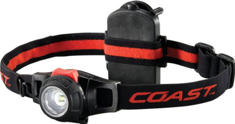 6. Coast Focusing Headlamp