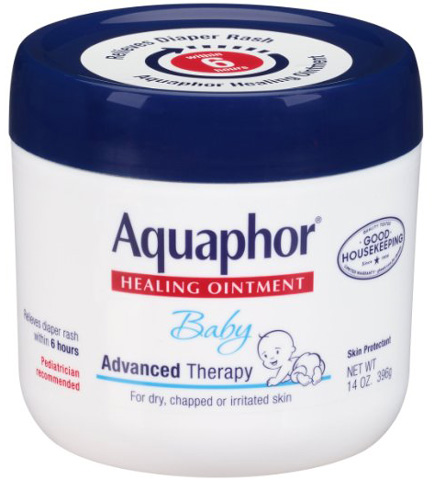 10. Aquaphor Baby Healing Ointment, Diaper Rash and Dry Skin Protectant, 14 Ounce