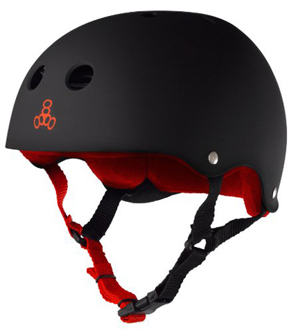 1. Triple 8 Brainsaver Helmet