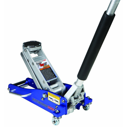 3. 1.5 Ton Compact Aluminum Racing Jack With Rapid Pump