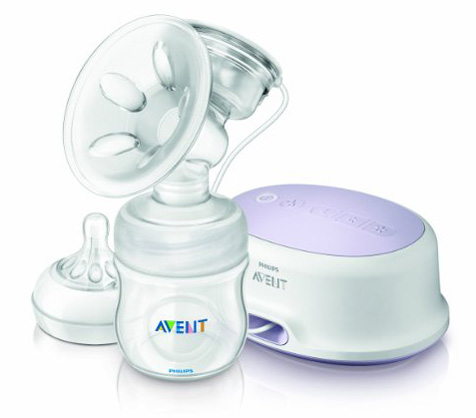 3. Philips Avent Single Electric Comfort Breast Pump