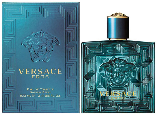 2. Versace Eros Eau de Toilette Spray for Men