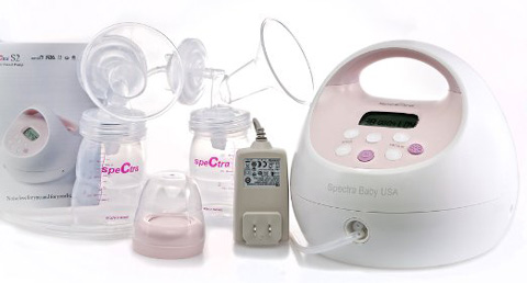 5. Spectra Baby USA S2 Double/Single Breast Pump