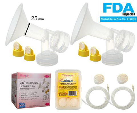 9. Breast Pump Kit for Mandel Pump