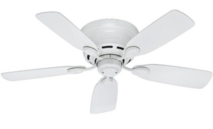 9. Hunter Low Profile Ceiling Fan
