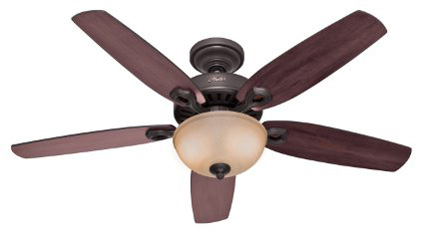 1. Hunter Indoor Ceiling Fan with light and pull chain control
