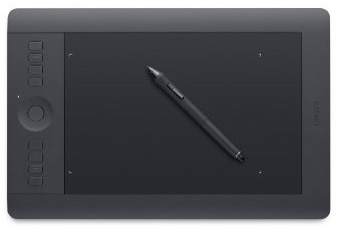 9. Wacom Intuos Pro Pen and Touch Tablet