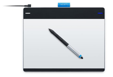 3. Wacom Intuos Pen and Touch Medium Tablet