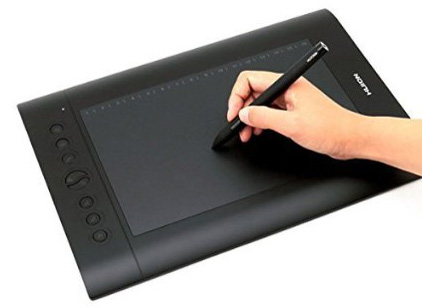6. The Huion H610PRO Painting Drawing Pen Graphics Tablet