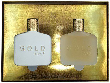 5. Jay Z Gold Fragrance Set, 2 Count